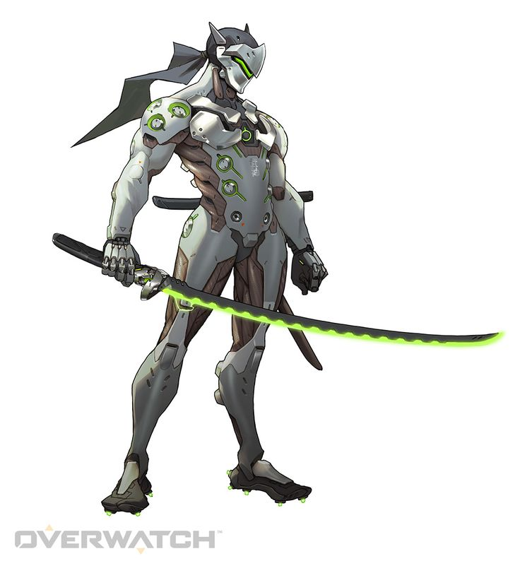 Genji flings precise and deadly Shuriken at his targets, and uses his technologically-advanced katana to deflect projectiles or deliver a Swift Strike that cuts down enemies.
