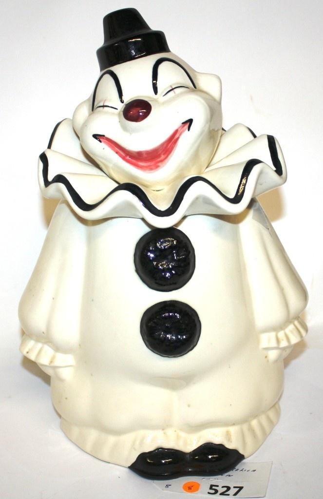 METLOX HAPPY CLOWN COOKIE JAR