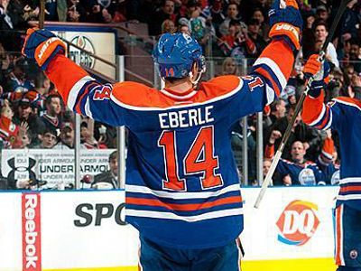 Edmonton oilers and Eberle
