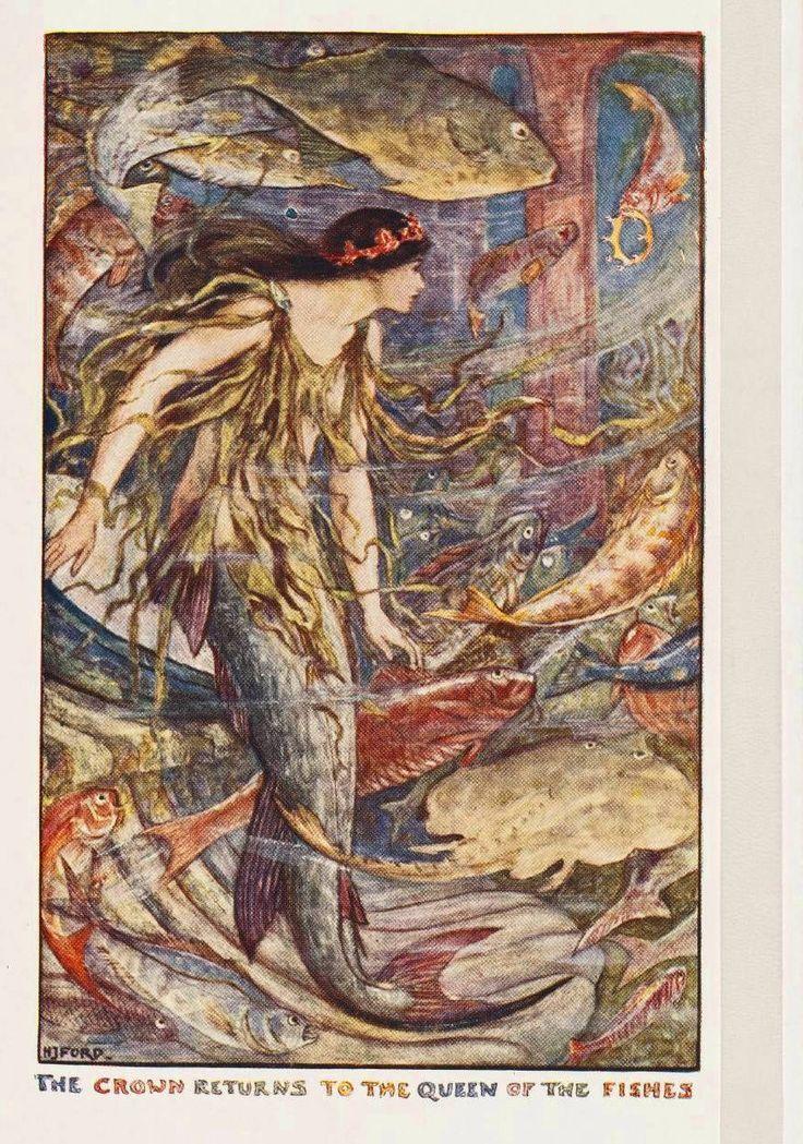 Pin By Kim Hinkle On Public Domain Art Art Mermaid Art Victorian Art