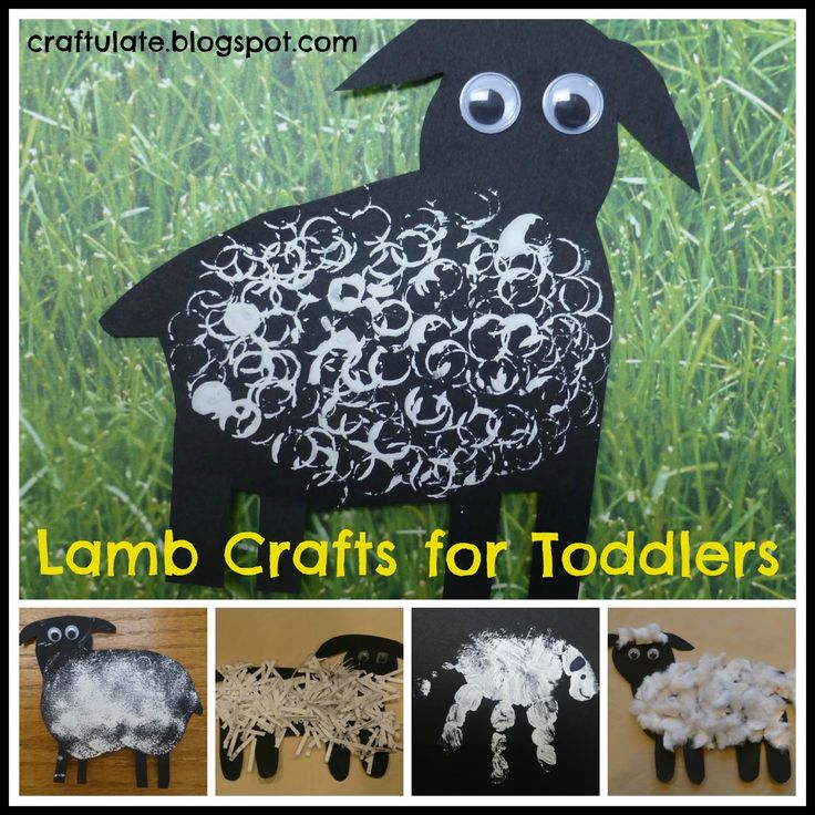 Lamb Crafts for Toddlers (from Craftulate)