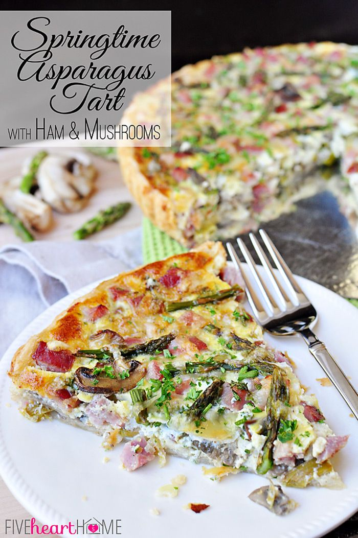 Springtime-Asparagus-Tart-with-Ham-and-Mushrooms-by-Five-Heart-Home_700pxTitle