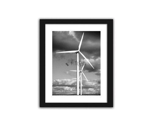 Wiatraki energetyczne, obrazki w ramie