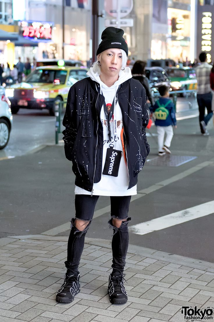 "urban / street style. like the Supreme phone case. love the Nike Air Scottie Pippen shoes (i have a few pairs) ... ""Die'Fall"" 