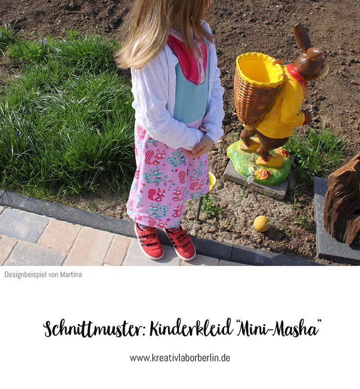 """Kinderkleid """"Mini-Masha"""" genäht von Martina"""