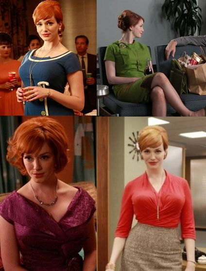 Utterly obsessed with Mad Men's Joan Harris!  Mad Men Style Tips: How to Dress like Joan Harris
