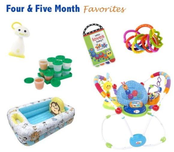 4 Amp 5 Month Old Favorite Baby Products Teether Toy