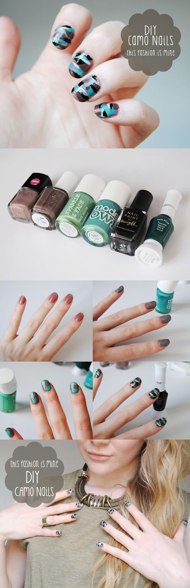 32 best Camo nails! images on Pinterest | Camo nails, Camouflage ...