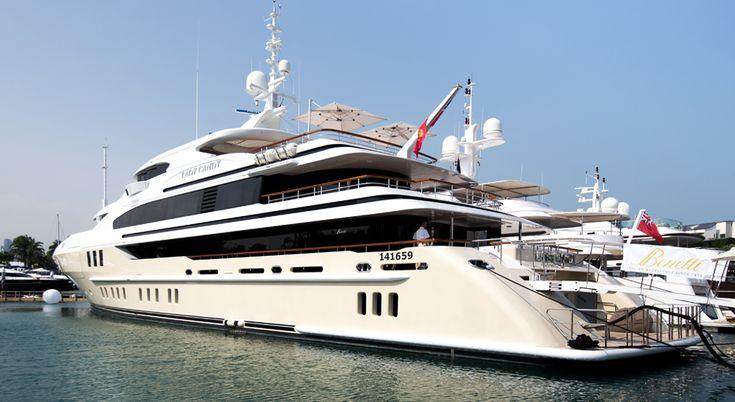 Benetti at Singapore Yacht Show