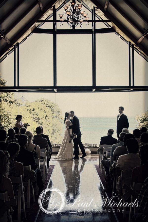 Ceremony at the Pines Chapel. Wellington wedding venue. Photography by PaulMichaels http://www.paulmichaels.co.nz/