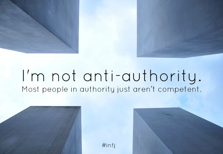 Authority is needed to guide and organize people. However, many, if not most, aren't worthy.