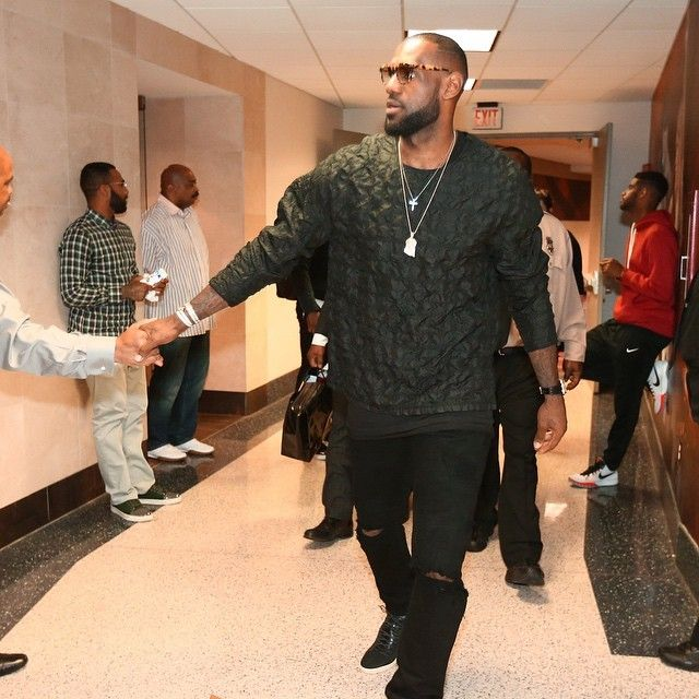 Lebron-James-wears-31-Phillip-Lim-Black-Stitch-Silk-Long-Sleeve-Shirt
