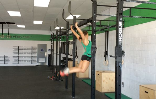 Tips For Getting Your First Bar Muscle Up! Written by Heather Hippensteel Oh, the bar muscle up. It's one of my favorite movements! If you are trying to get your first bar muscle up, here are some tips to help you get there. Now, before you try to attempt this, you should be proficient with kipping pull-ups, kipping chest-to-bar pull-ups, and dips. The bar muscle up is actually quite simple, considering how much momentum you can gain by using your hips. Maintaining a strong core throughout…