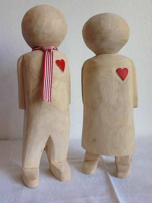 Large Wooden Dolls | The Perfect Day