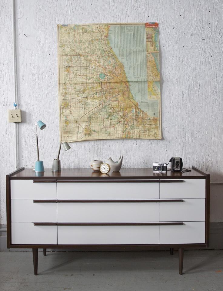 Best Mid Century Modern Images On Pinterest Mid Century - Mid century furniture chicago