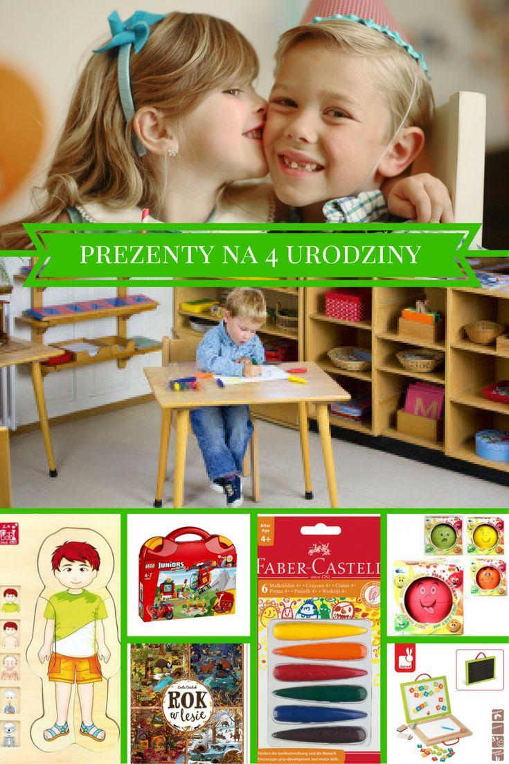 Najlepsze, sprawdzone pomysły na prezenty dla czterolatków