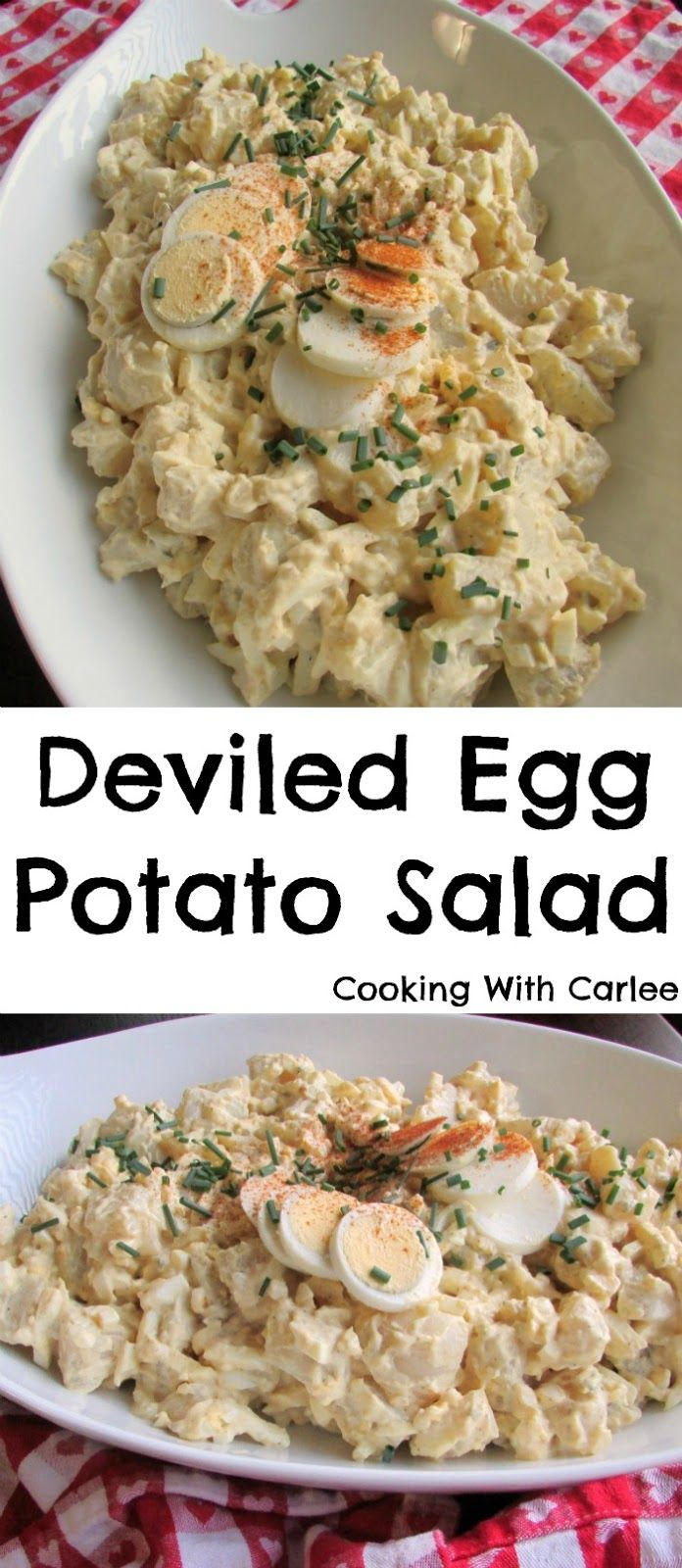 378 best images about cooking with carlee on pinterest for How to make homemade deviled egg potato salad