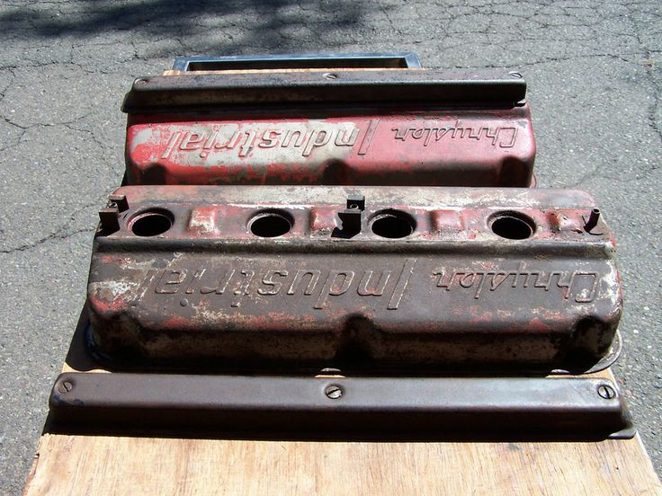 Hemi 392 354 331 Dimpled Valve Covers Industrial P 47
