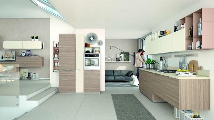 Oltre 25 fantastiche idee su pensili cucina su pinterest idee per la cucina piccola dispensa - Profondita pensili cucina ...