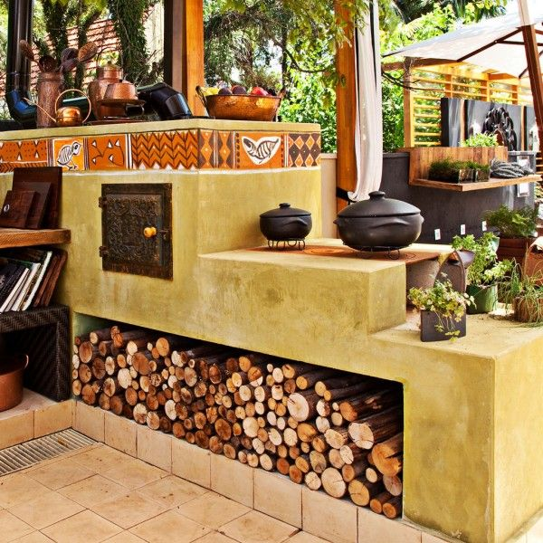 Fogão a lenha: charme e simplicidade para sua cozinha!