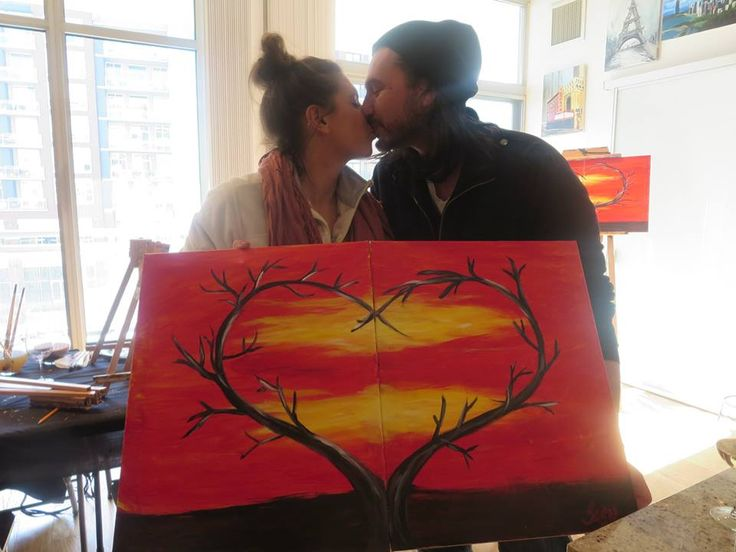 best 25 couple painting ideas on pinterest couple On painting classes for couples