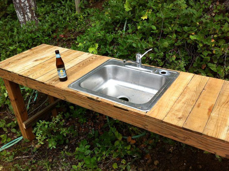 Best 25+ Outdoor kitchen sink ideas on Pinterest | Build outdoor ...