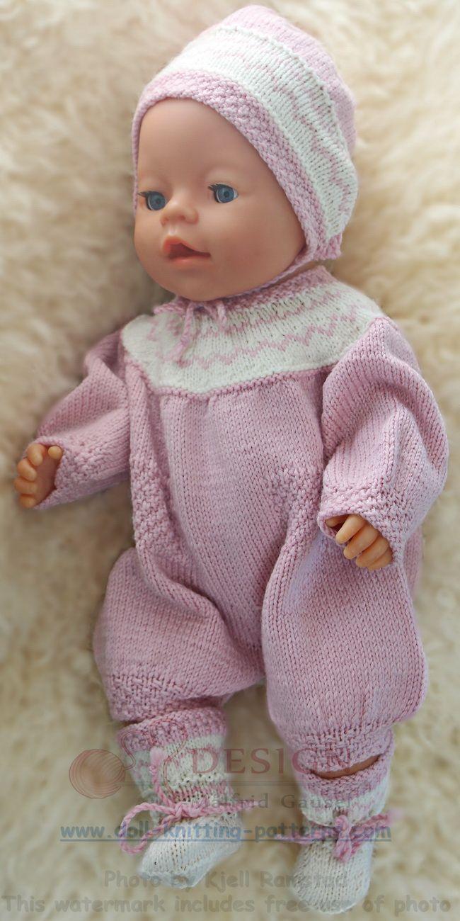 modele de tricot pour poupee