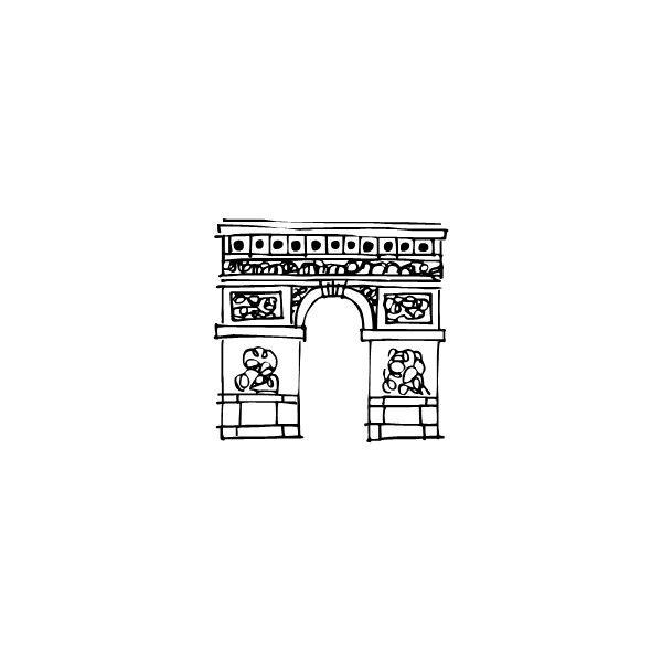 Paris Doodles Regular - Fonts.com ❤ liked on Polyvore