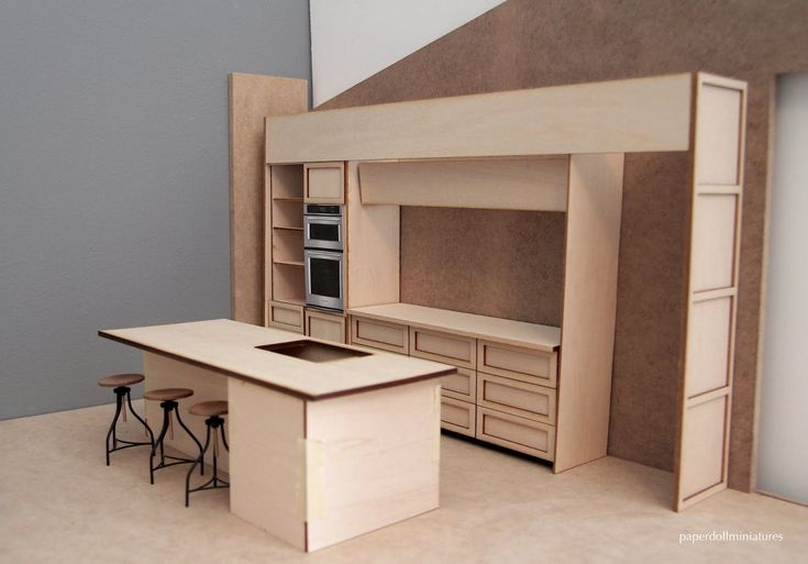A modern miniatures blog with a focus on contemporary dollhouse design
