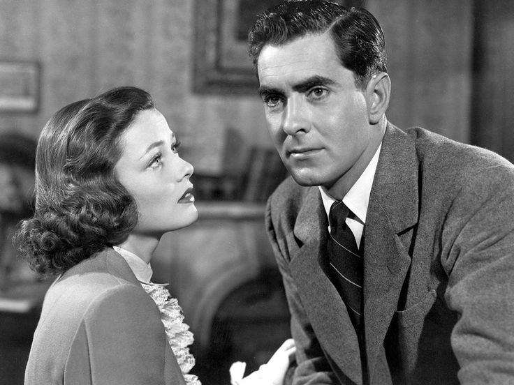 Gene Tierney and Tyrone Power in THE RAZOR'S EDGE (1946)