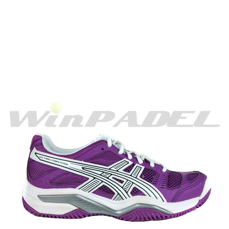 Zapatillas de pádel Asics Gel-Padel Competition SG en color morado. http://www.winpadel.com/zapatillas-de-padel/zapatillas-de-padel-asics-gel-padel-competition-sg-en-color-morado