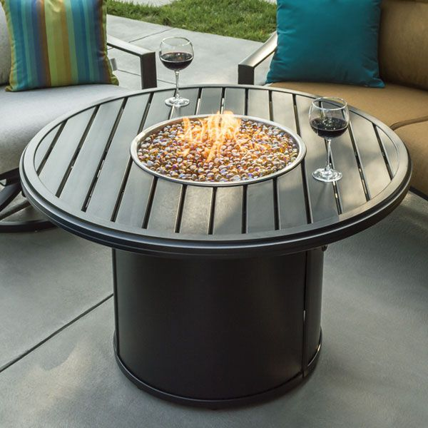 The Banchetto Round Firepit Is A Tropitone Classic Inspired By