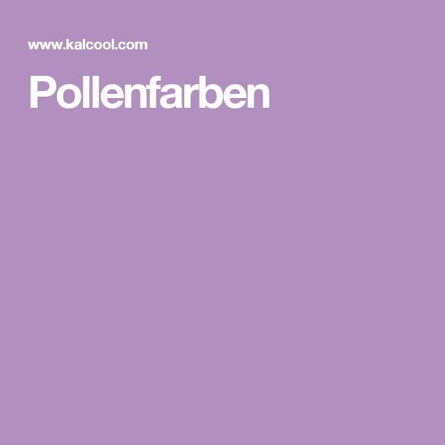 Pollenfarben