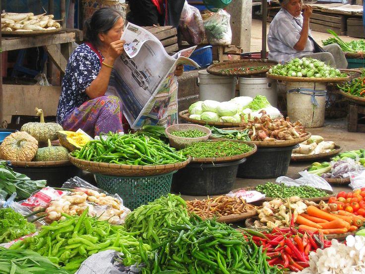 Le #marché de #Sukhothai