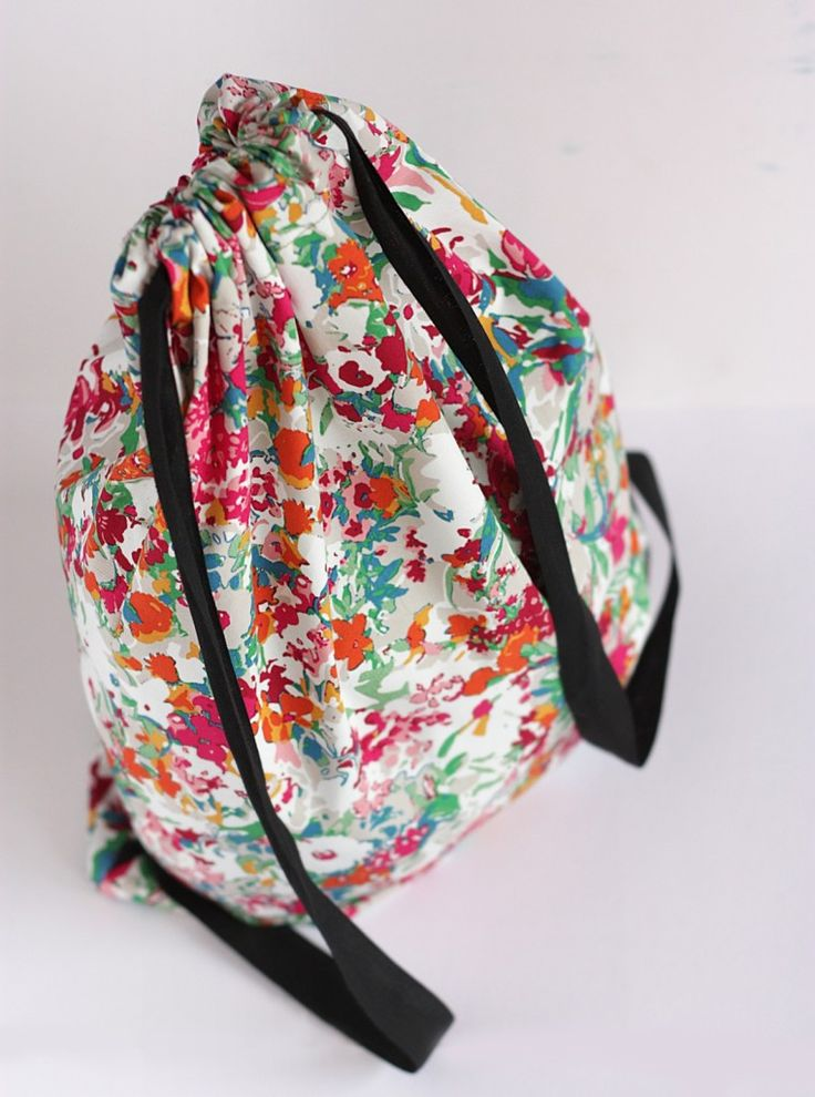 DIY Drawstring Backpack final 3