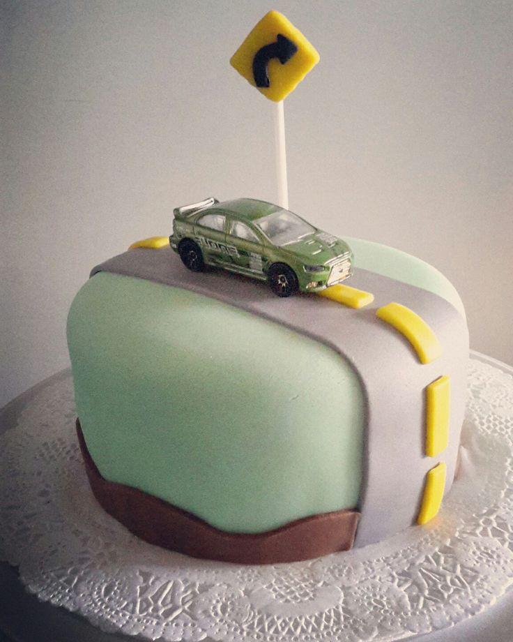 Para un logistico, torta de carrito