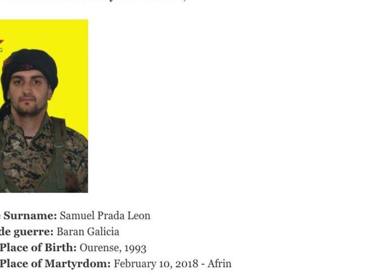 Un español muere en Siria combatiendo con las milicias kurdas