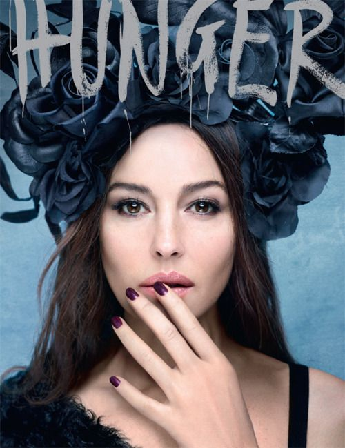 Monica Bellucci on the cover of Hunger #2