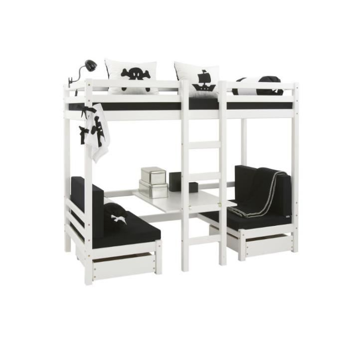 lit superpos camion de pompier enfant giro cou. Black Bedroom Furniture Sets. Home Design Ideas