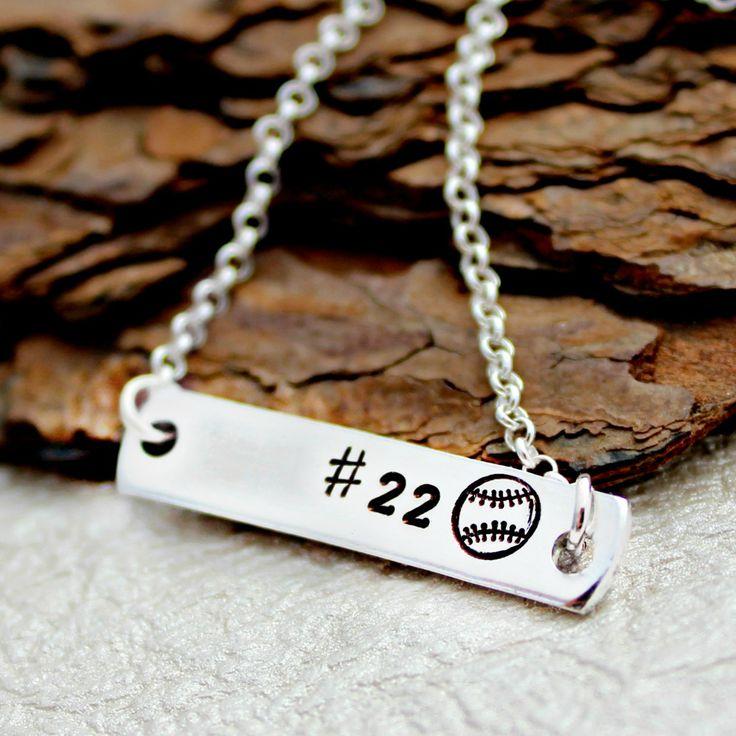 This Baseball Necklace is the perfect necklace for your Baseball or Softball Star. It is also a great necklace to show off your favorite player! Perfect for any Baseball Mom, Girlfriend, Wife, etc. Th