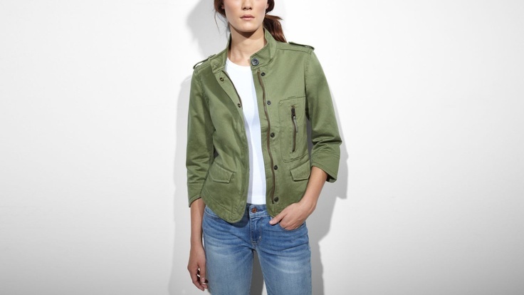Levi's - military meets sleek