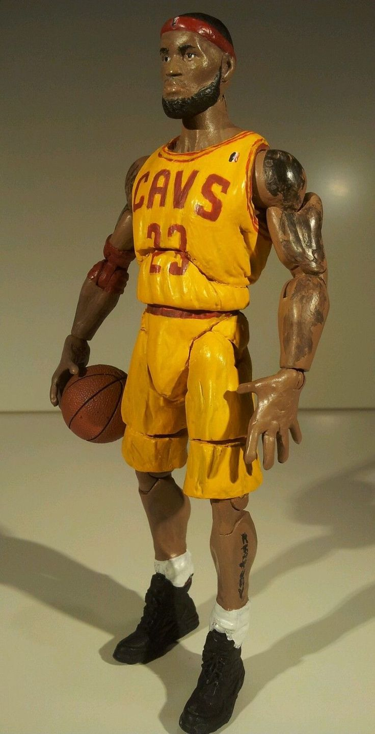 For Sale NOw On Ebay, LeBron James Marvel Legend In Yellow Cavs Uniform, low starting bid: http://www.ebay.com/itm/252516508504