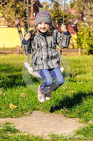 Download Girl Playing In Swing In Park Stock Photos for free or as low as 0.69 lei. New users enjoy 60% OFF. 19,879,311 high-resolution stock photos and vector illustrations. Image: 35253173