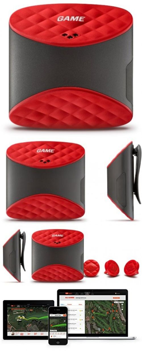 Other Golf Training Aids 14109: Game Golf Digital Shot Tracking System, Red Black -> BUY IT NOW ONLY: $162.54 on eBay!