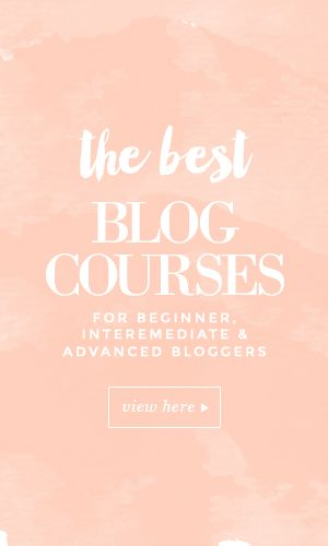 Beginner, intermediate and advanced blogging courses from The Blog Stylist and recommended bloggers.