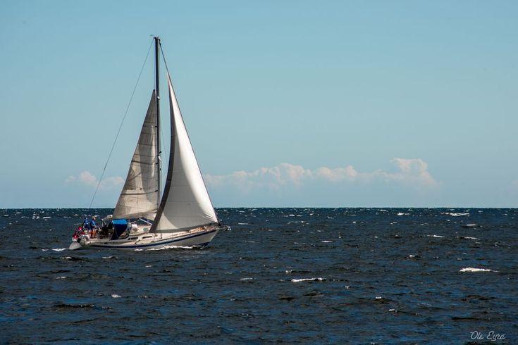I am sailing.... by Ole Morten Eyra