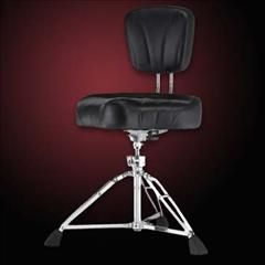 HelloMusic: Pearl Drum Throne D2500 Drum Throne w/Back Rest