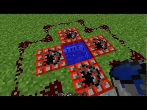 Como hacer cañones en Minecraft con redstone