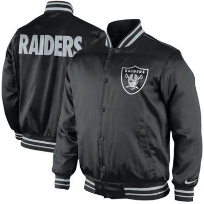 Nike Oakland Raiders Start Again Jacket - Black