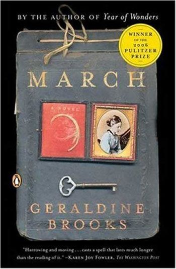:March:-- from the perspective of Mr. March, the :little women: patriarch